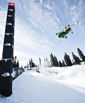 Smith Optics Ski Team at The North Face Park and Pipe Open