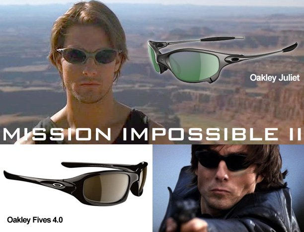 Oakley Sunglasses - Mission Impossible II
