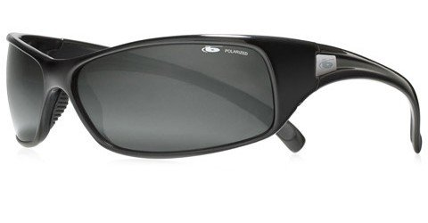 Bolle Recoil (Rx) Shiny Black Prescription Sunglasses