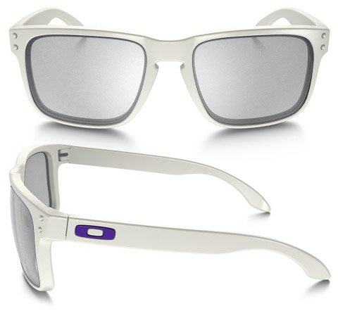 Oakley Holbrook (Rx) Matt White Prescription Sunglasses