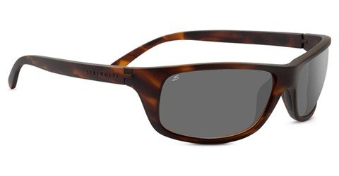 Serengeti Bormio (Rx) Satin Dark Tortoise Prescription Sunglasses