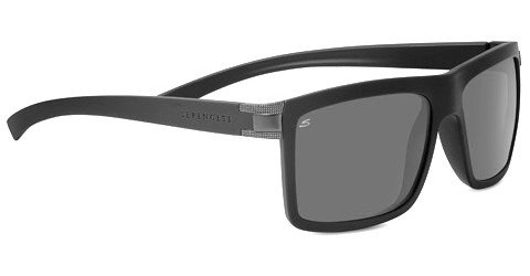 Serengeti Brera (Rx) Sanded Black Prescription Sunglasses