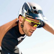 Fabien Barel - Pro Downhill Mountain Biker wearing Bolle Vortex