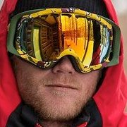 Tanner Hall - Pro Skier wearing Oakley Crowbar