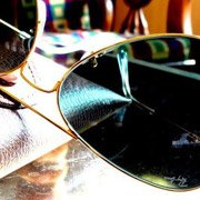 Ray-Ban RB3025 Aviator Large taken by Ray-Ban fan Viraj Dalvi