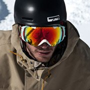 Scotty Lago - Pro Snowboarder wearing Smith Optics I-O