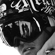 Xavier de Le Rue - Pro Snowboarder wearing Smith Optics I-O