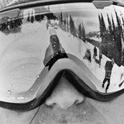 Shayne Pospisil - Pro Snowboarder wearing Smith Optics I-O