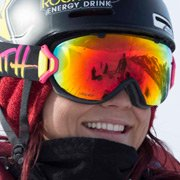Pro Snowboarder Elena Hight wearing Smith Optics I-OS