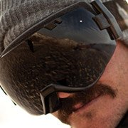 Mark Carter - Pro Snowboarder wearing Smith Optics I-OX