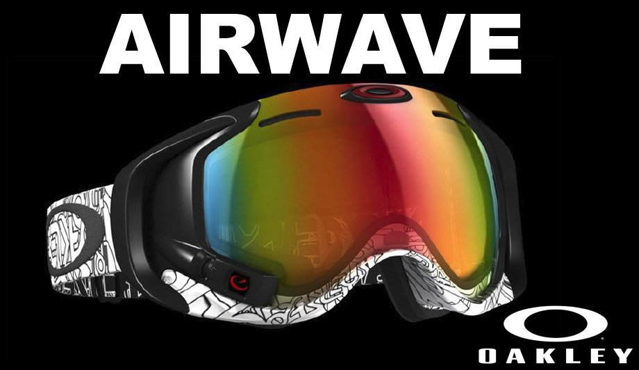 oakley airwave goggles  The Oakley Airwave Ski Goggle