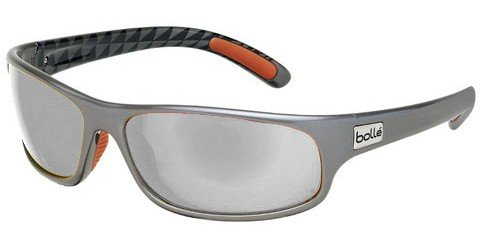 Bolle Anaconda (Rx) Shiny Gun - Black Prescription Sunglasses