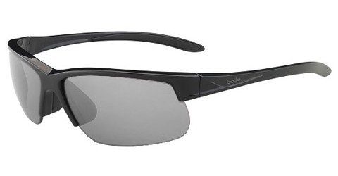 Bolle Breaker (Rx) Shiny Black Prescription Sunglasses