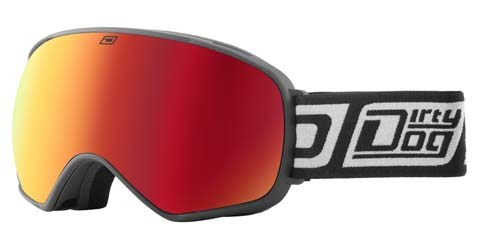 Dirty Dog Bullet 54200 Ski Goggles