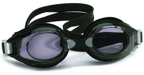 Hilco Vantage Adult Black minus 3.50 Swimming Goggles