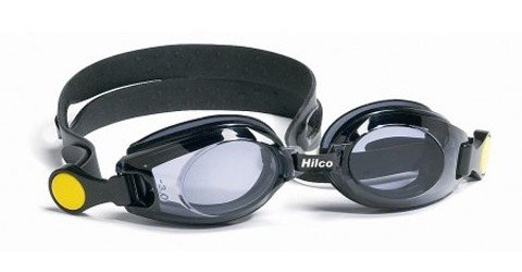Hilco Vantage Kids Black PLANO Swimming Goggles