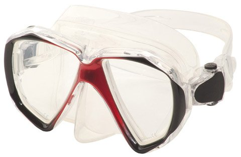 Hilco Ready-to-Wear Adult Red minus 2.50 Swimming Goggles